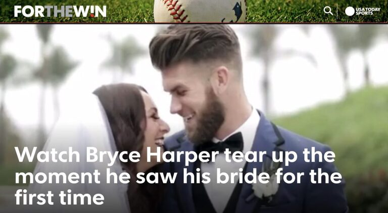 Bryce Harper Wedding.Its Official Bryce And Kayla Harper Thesequal San Diego Wedding